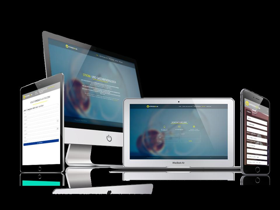 Webdesign und Programmierung für StroGa24