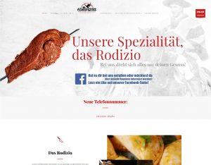 Webdesign und Softwareprogrammierung für Estanzia von Divinci in Schweinfurt