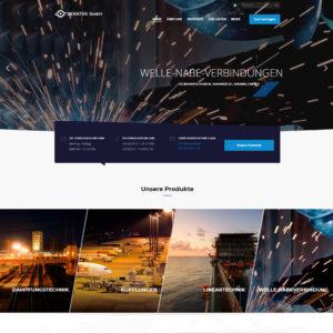 Webdesign und Softwareprogrammierung für Bekatek von Divinci in Schweinfurt