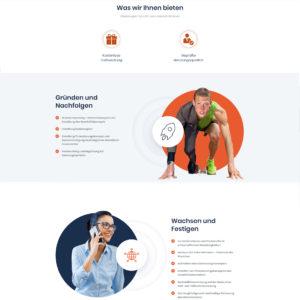 Webdesign und Softwareprogrammierung für Smarter-Beraten von Divinci in Schweinfurt