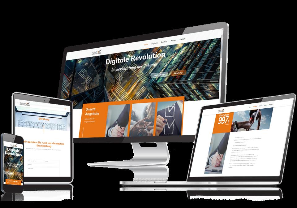 Webdesign und Programmierung für Digitale Steuerberatung